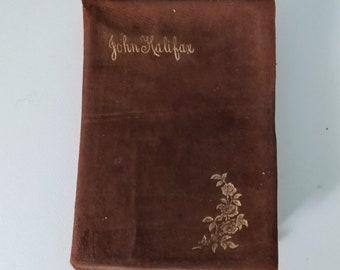 John Halifax, Gentleman, 1856 Novel, Dinah Craik, Rare Leather-Bound Book