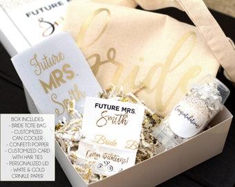 Engagement Box - Future Mrs Box - Engagement Gift - Bride to Be Gift - Gift for Future Bride - Gift for Future MRS