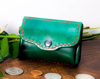 Small leather wallet ,cash wallet , leather wallet, Leather  purse ,handmade wallet, card and cash wallet, wallet for women