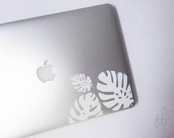 Jungle Leaf Laptop Sticker