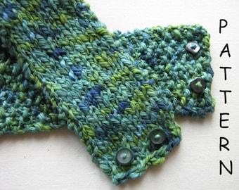 pdf Knitting Pattern Neck Cuff