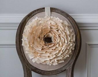 Rustic Paper Wreath