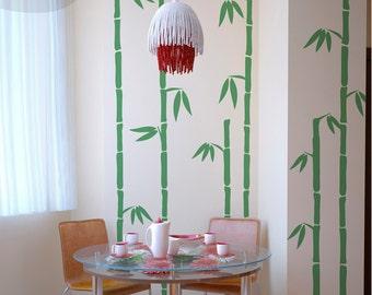 Tall Bamboo - Vinyl Wall Decal