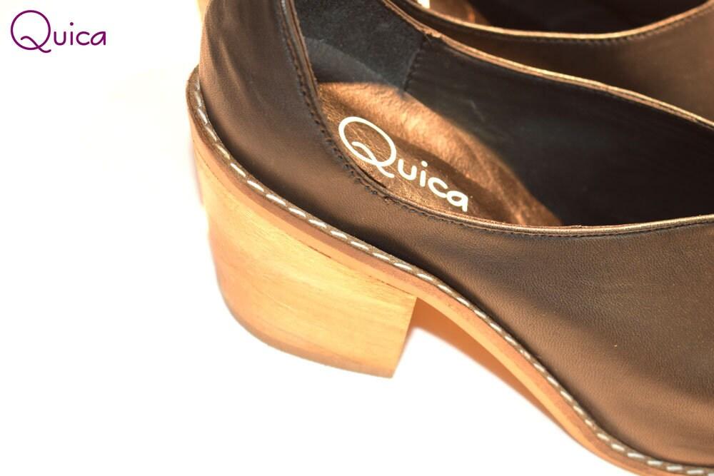 Bottes femme en cuir Charrito lisse Texana Charrito cuir croisent Cardales Texana Charrito femmes en cuir noir lisse 050ce6