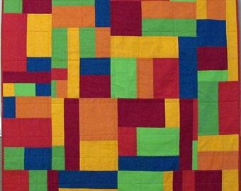 Multi Colored Cozy Quilt