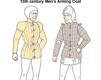 RH006 - 15th century Burgundian Arming Coat Pattern