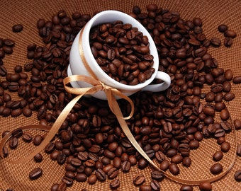 Coffee Dark Roast Unflavored Coffee 4 ounces Whole Bean or Ground free