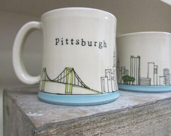 MADE TO ORDER ~ Pittsburgh Mug