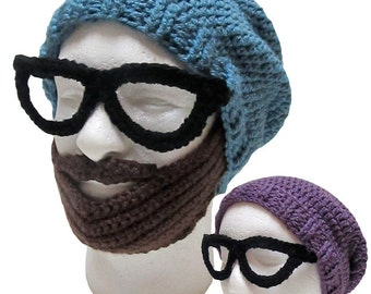 The Ultimate Crochet Hipster Hat Pattern (PDF FILE)