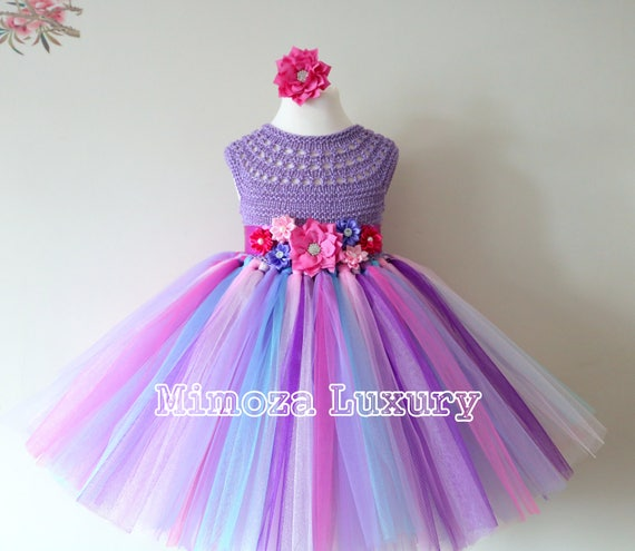 Candyland Birthday Tutu Dress, candy land tutu dress, rainbow tulle tutu dress, 1st birthday dress, 2nd birthday dress, tulle tutu, candy