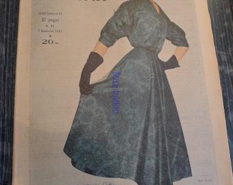 fashion magazine 7 decembre 1952