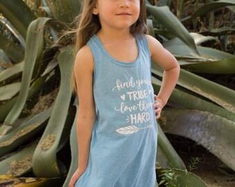 Girls fringe dress. Find your trip love them hard fringe dress. Baby girl fringe dress. Boho fringe dress. Baby Coachella dress