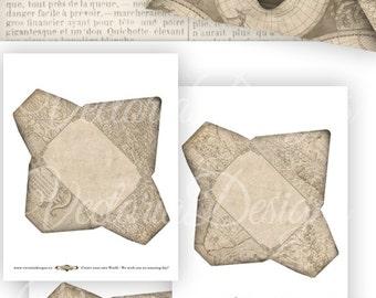 Antique Maps Envelopes - VD0751