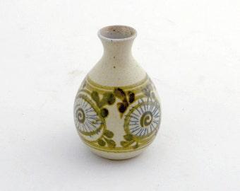 Midcentury Studio Pottery Bud Vase