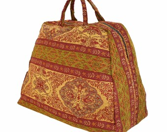 Large Mary Poppins Costume Victorian Style Carpet Bag