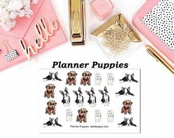 Planner Puppies//EC//Hp classic, large mini