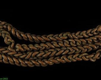 Copper Braided Chain Africa 38 Inch 99791