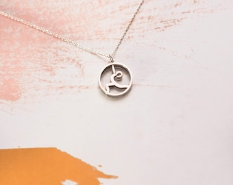Yoga Jewelry | Warrior I | Sterling Silver
