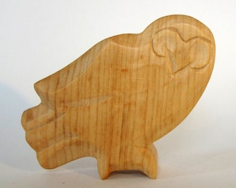 Owl, Wooden Animals, Natural Toys for Waldorf Education