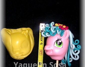 Silicone mold, face Little Pony.
