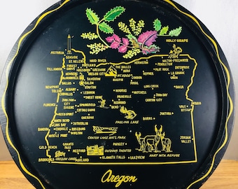 Oregon Souvenir Tray