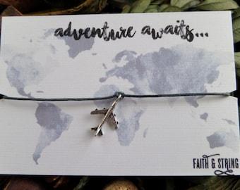 Travel Gift Adventure World Good Luck Card