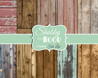 Rustic, Beautiful, Colonial, Barn Wood, Old and Rotted, Digital, Scrapbook, 12x12, Paper, Pack, Instant Download