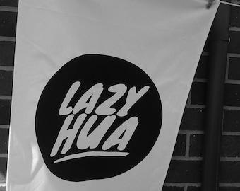 Lazy Hua tea towel