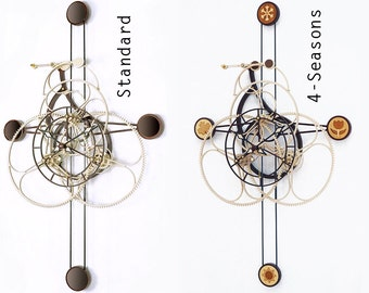 DUODECIMUS Wooden clock kit