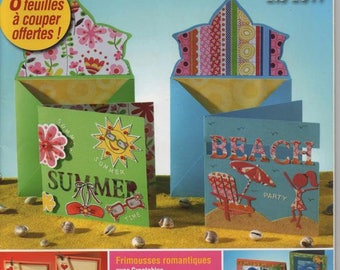 Special creative magazine cards 3d to make yourself