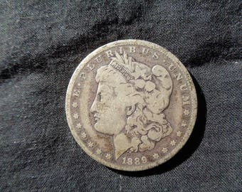 SILVER DOLLAR - 1889 New Orleans Mint
