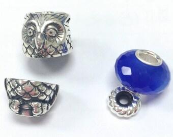 Owl  925 Silver