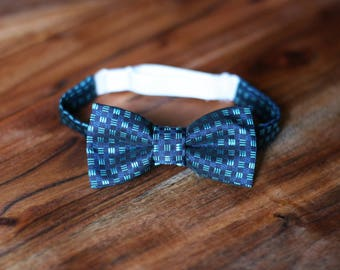 Week sale! Baby boy elegant bow tie. High quality polyester/viscose fabric. Size 0-24 months. Baby Photo Prop