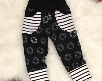 Grow With Me Pants -  Fit Forever - Custom Print Choice - 6/9M-3/4T, 4/5T-7/8Y