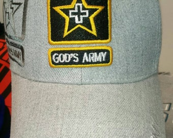 God's Army baseball caps