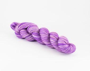 20g Mini Skein - Hand Dyed Yarn - AFTER WE COLLIDED - 80/20 Australian Merino/Nylon Sock Yarn