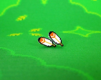 Super Mario World Flight Feather Earrings