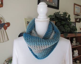 Crocheted Mobius Infinity Scarf