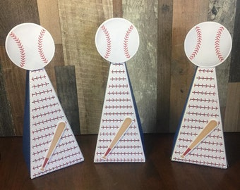 Baseball candy box cone  // candy birthday// party favors//Cute baby shower