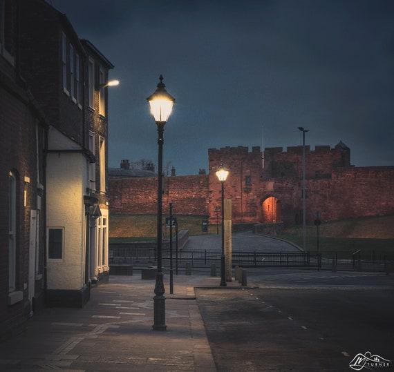 Carlisle Castle from Castle Street [Photographic Print]