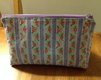 Cosmetic bag, makeup bag, zipper cosmetic pouch, zipper pouch