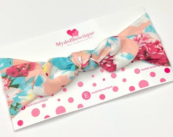 Headband, stretch headband, flowers