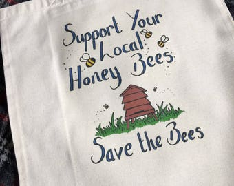Support your local Honey Bee Bag