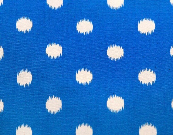 Waterproof Picnic Blanket-New Fabric Ikat Dots, Choose your color