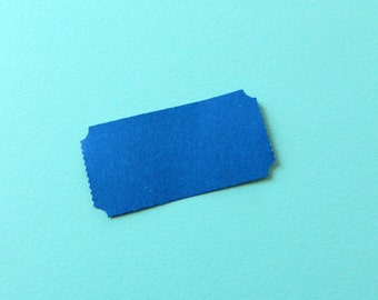 1 x 2 inch Blank Tickets, hand punched cardstock paper embellishments, DIY memories, reward points, special trips coupons, raffle tags