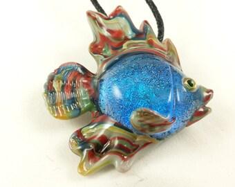 Fish - Glass Pendant Necklace