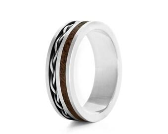 Weave - wood rings UK