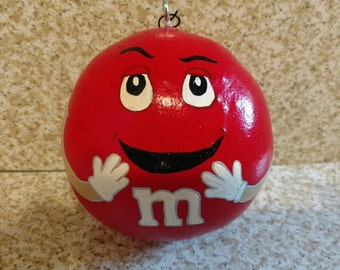 Hand Painted Gourd Ornament