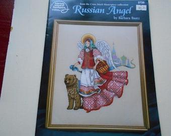 Russian Angel cross stitch