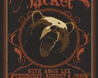 My Morning Jacket 2011 Red Rocks Original Concert Poster